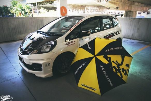 Firdaus' Love Affair With Honda Jazz | BECAUSE RACE CAR