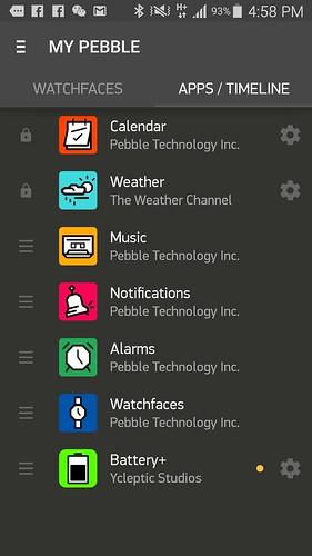 มี App อะไรติดตั้งบ้าง และเลือกตั้งค่าแอปจากตรงนี้