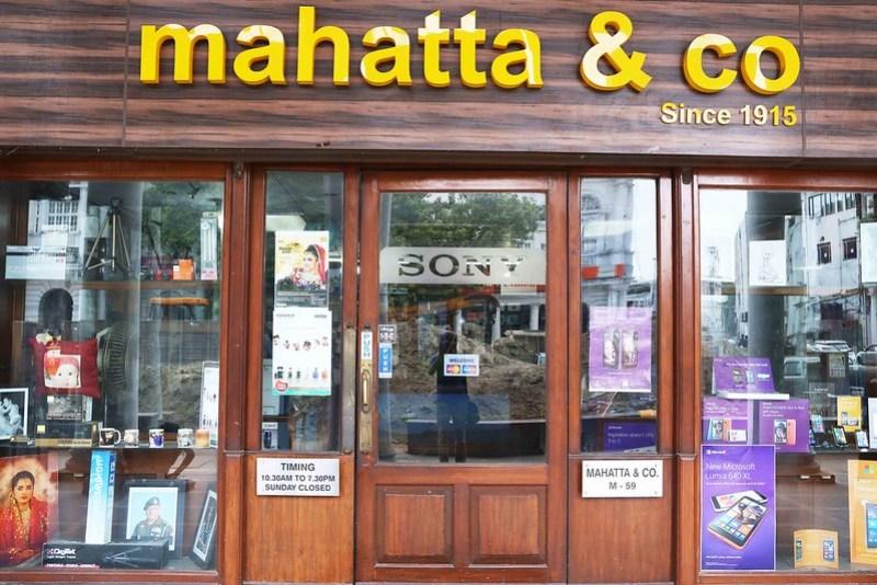City Landmark - Mahatta & Co, Connaught Place