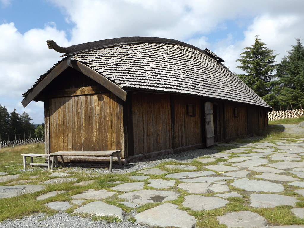 Viking Longhouse Avaldsnes Karm Y Norway 21 July