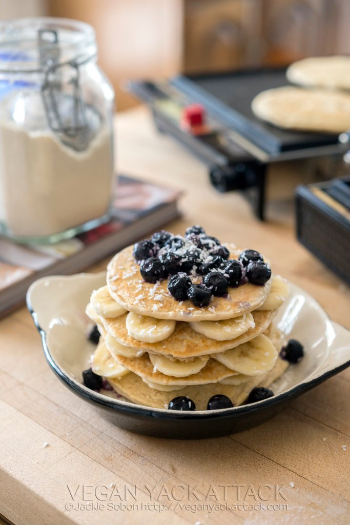 Classic Pancake & Biscuit Mix - Weekends are more relaxing with this in your cupboard ready to be turned into vegan pancakes, biscuits, and waffles.