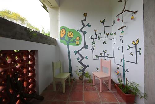 彩繪陽台牆壁(10.10ys)