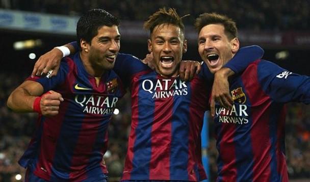 Messi, Neymar y Suárez, entre los finalistas de la UEFA