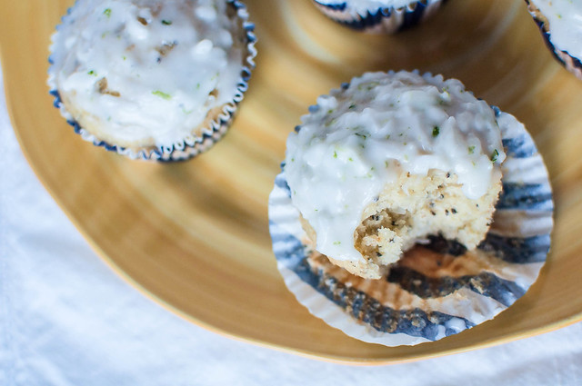 Coconut Macadami Muffins with Lime Glaze 5