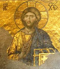 Jesus from the Deesis Mosaic