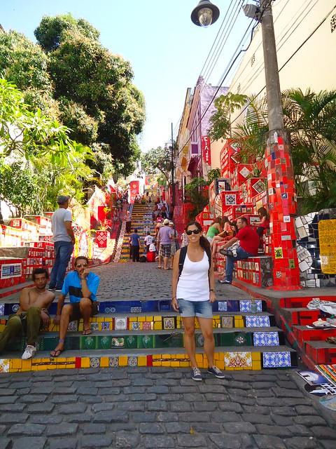 Escalaria de Selaron, Río de Janeiro