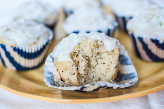 Coconut Macadami Muffins with Lime Glaze 4