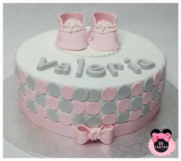 tarta bautizo rosa_gris Valeria copia