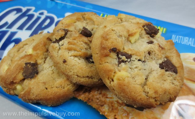 Limited Edition Chocolate Banana Chips Ahoy Cookies Closeup