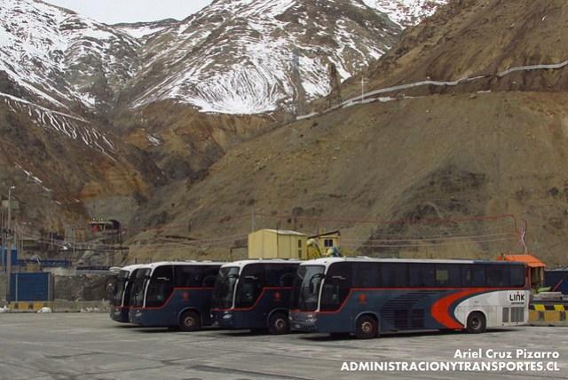 Link Services - Codelco El Teniente - Marcopolo Andare Class / Mercedes Benz