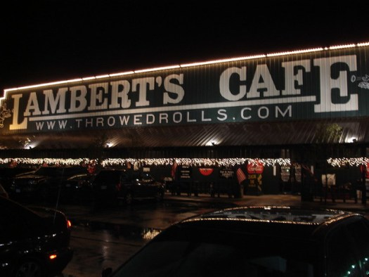 Lambert's Cafe, Foley AL