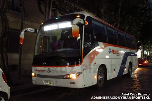 Movitur Viajes - Santiago - King Long XMQ6117Y (DRBB31)