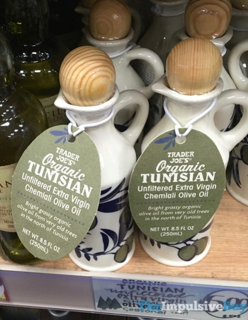Trader Joe's Organic Tunisian Unfiltered Extra Virgin Chemlali Olive Oil