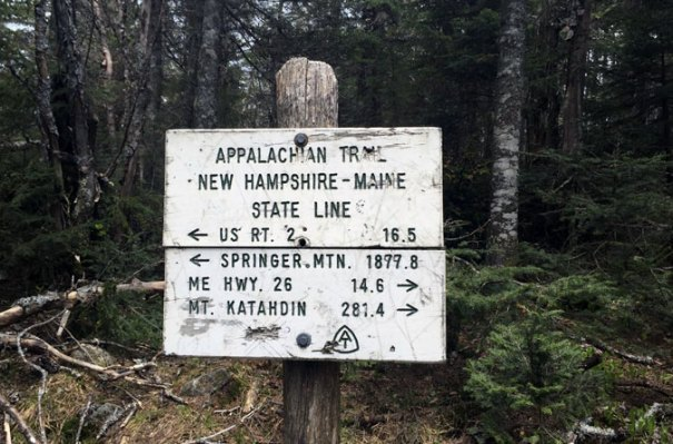 NH Maine AT Line