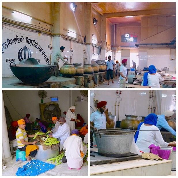 Cocina Gurudwara Templo Sij