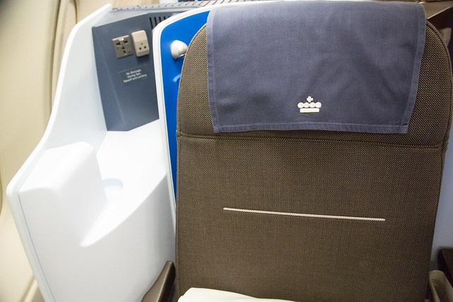 KLM Business Class NRT to AMS - GVA #ユーレイル