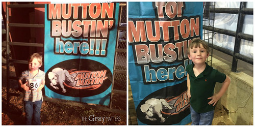 Mutton Bustin