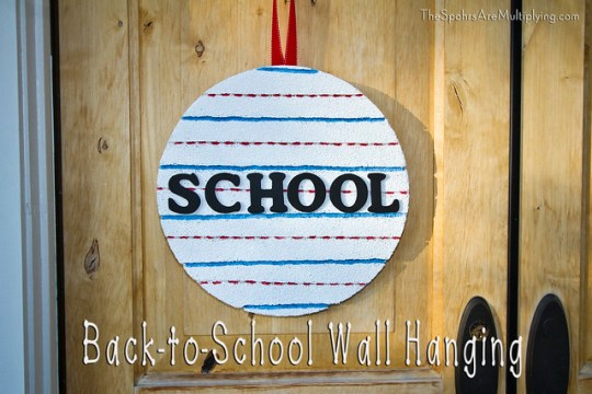 Back-to-School Wall Hanging