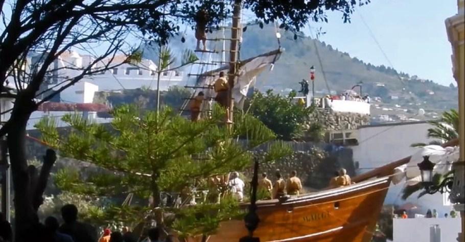 Carabela-Llegada de la Virgen a Santa Cruz de La Palma 01