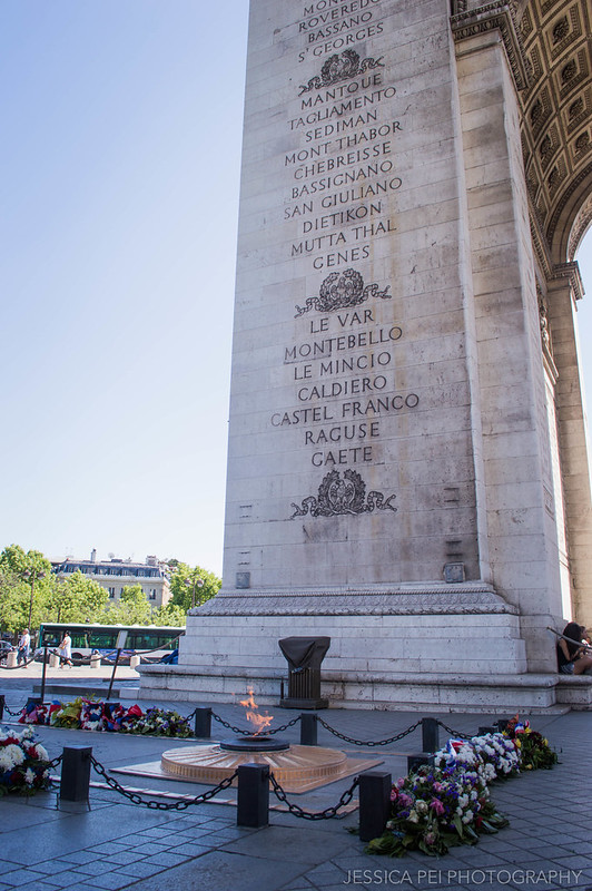 Tomb of the Unknown Soldier Arc de Triomphe