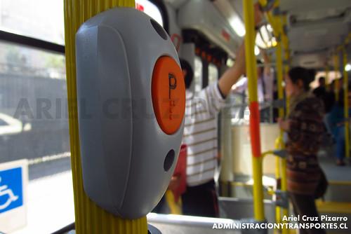 Transantiago - Express de Santiago Uno (U4) - Marcopolo Gran Viale / Scania (CJRX20)