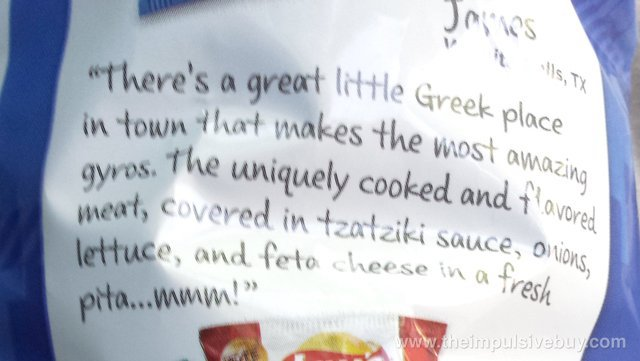 Lay's Kettle Cooked Greektown Gyro Potato Chips 2