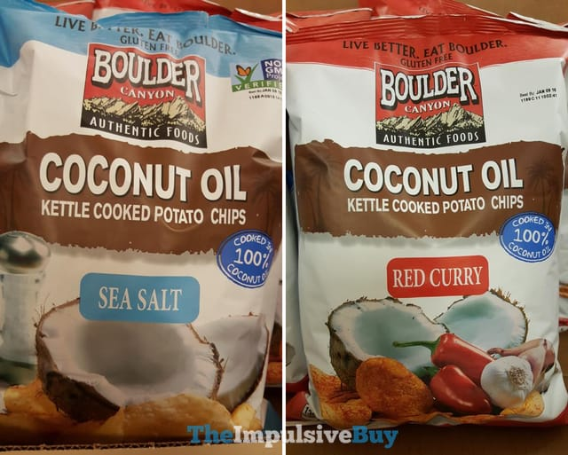 Boulder Canyon Coconut Oil Kettle Cooked Potato Chips
