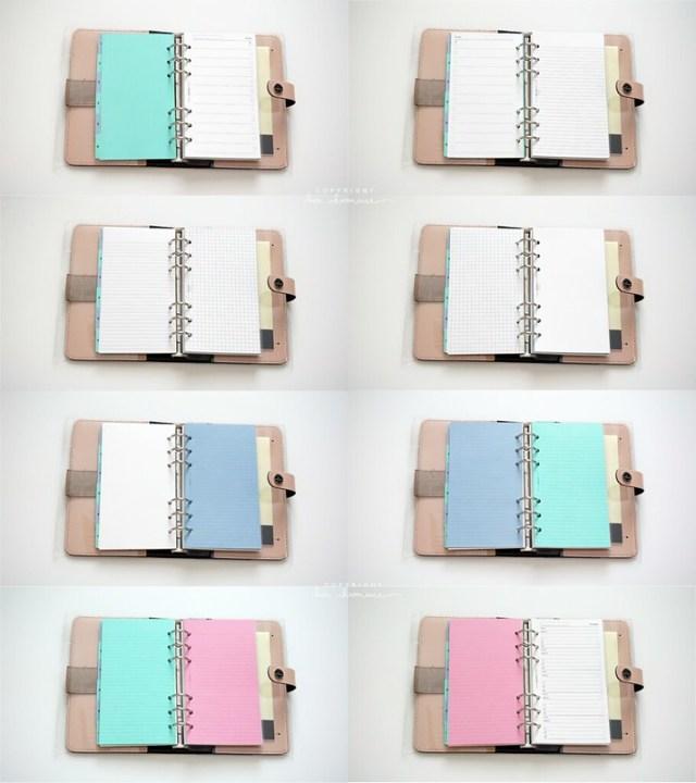 Filofax Overview (Personal/Medium Size, Color Nude)