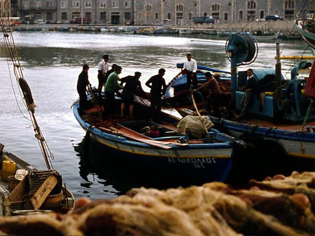 Fishing boats in Crete
