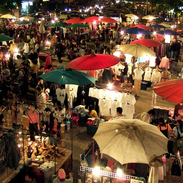 Chiang Mai is filled with night markets and weekend bazaars for any shopaholics