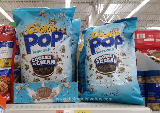 Cookies & Cream Cookie Pop Popcorn