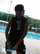 06062003 - FOC.Trial.Camp.0304.Dae.2 - Dress.Up.Competition.At.Pool.. HuiFen Strong Sia..
