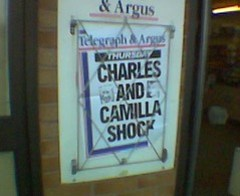 Charles and Camilla Shock