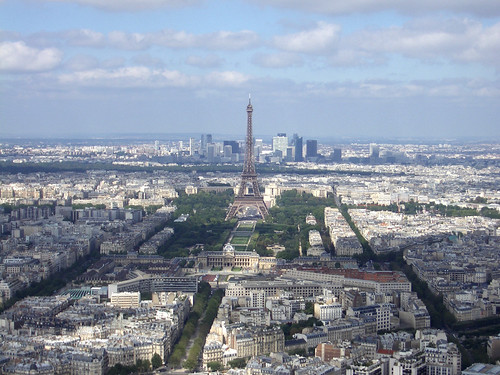 The view from Montparnasse