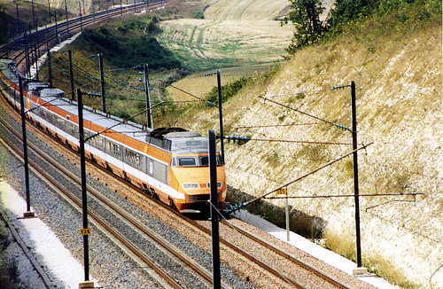 TGV, Burgundy, 1993