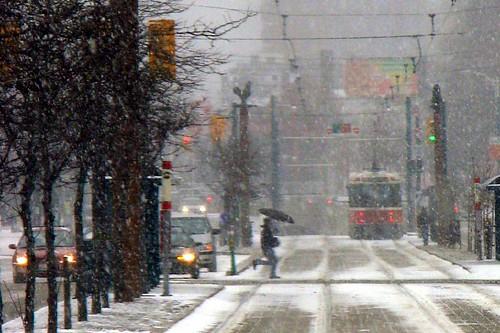 Skipping Through The Snow