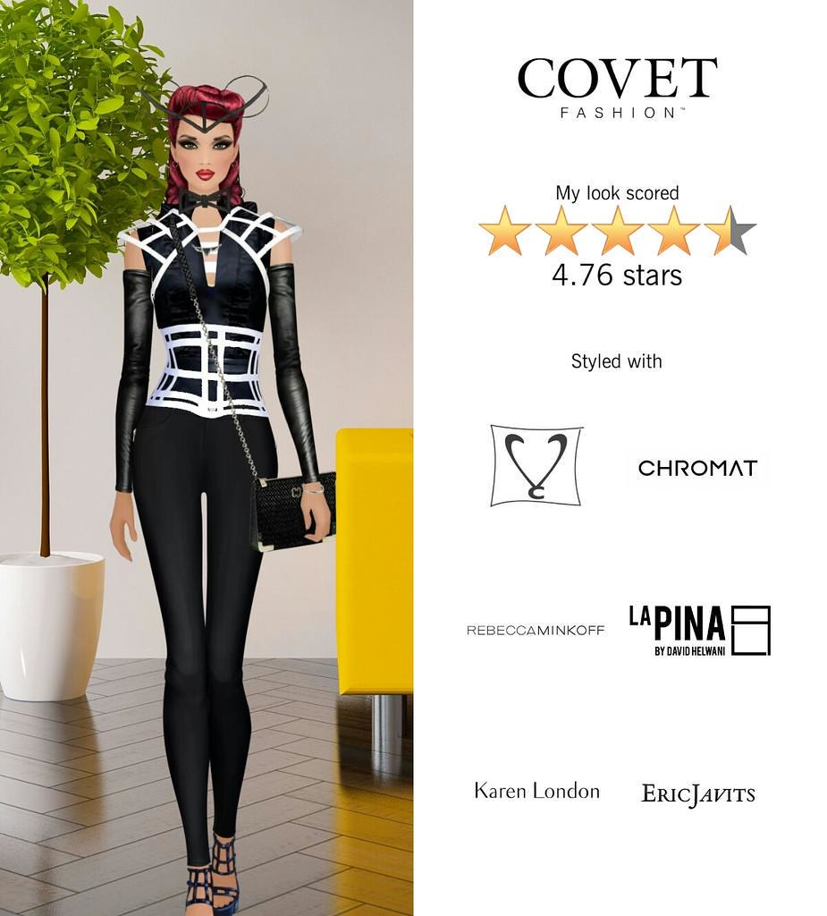 My Look Scored Stars In The Modern Maven Challenge In Covet Fashion