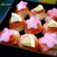 Salmon Temari Sushi [recipe]