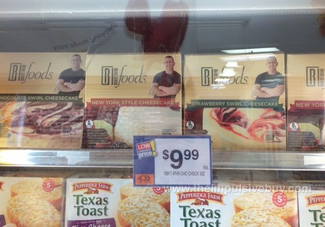 Robert Irvine Foods Cheesecake