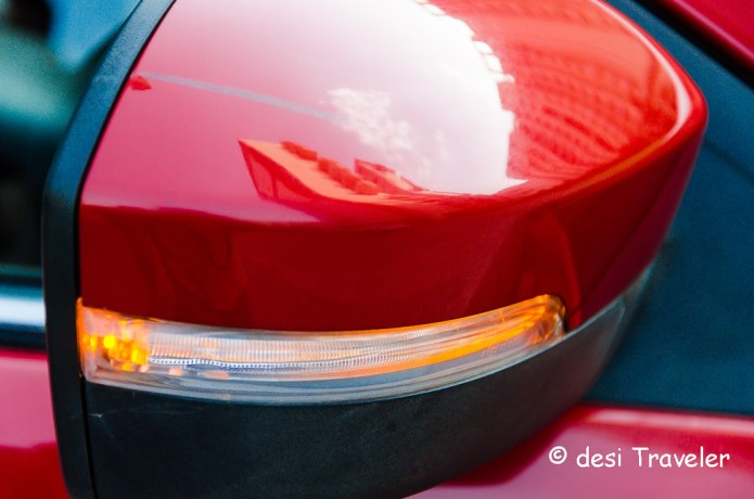 Tata Bolt Review Side view Mirror
