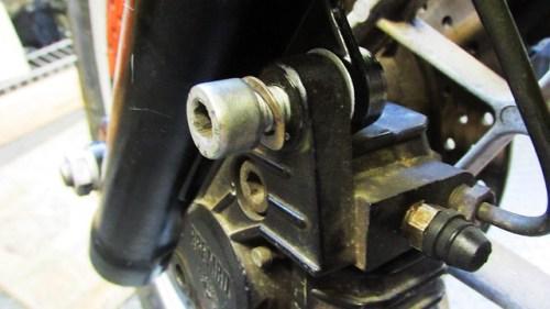 Brake Caliper Bolt Detail