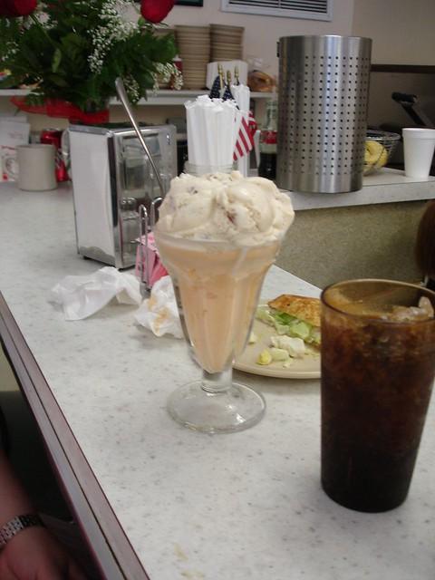 Orange-Pineapple Ice Cream, Trowbridge's, Florence AL