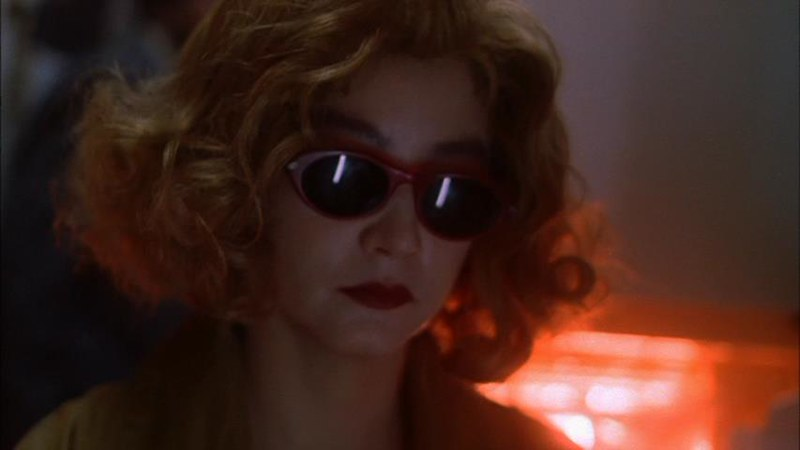 ブリジット・リンは映画でサングラスを外しませんでした。