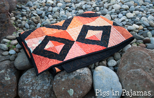Grace Circle October 2016 Quilt Folded