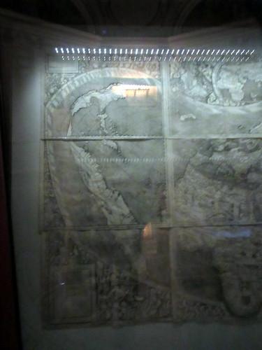 Western Hemisphere of 1507 Waldseemüller World Map