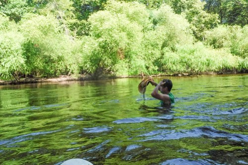 Edisto River Beer Commercial and Rope Swing Float-053