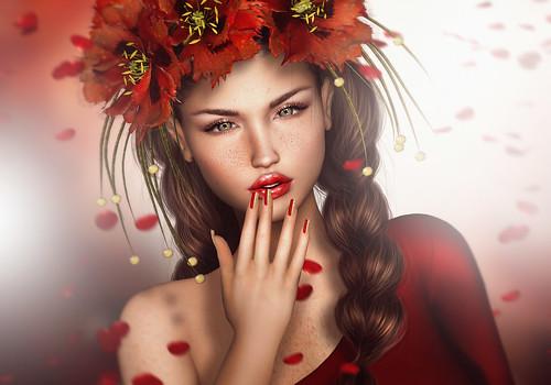 Nimoe *Rain of red petals*