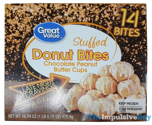 Great Value Late Night Cravings Stuffed Donut Bites