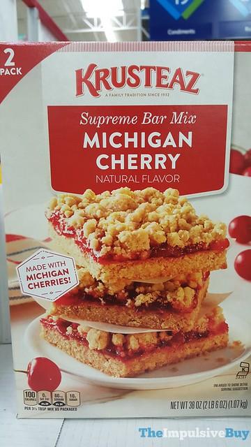 Krusteaz Michigan Cherry Supreme Bar Mix
