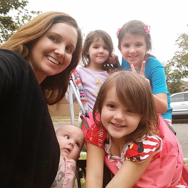 Sunday evening walk with the girls... :-)